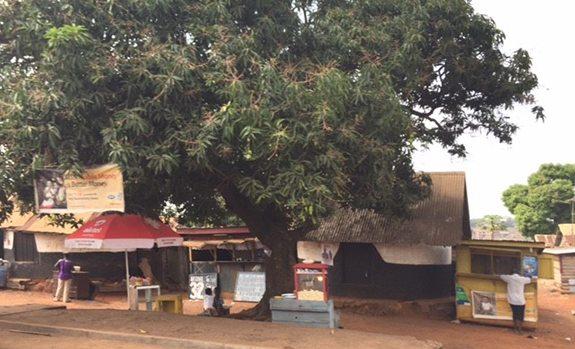 vendors on Ghana street