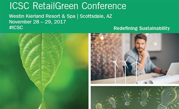 ICSC RetailGreen Conference flyer