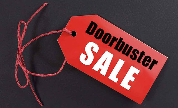 Drive Business to Your Doorbusters