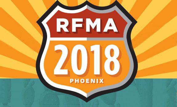RFMA 2018 branding