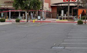 amc movie theater parking lot