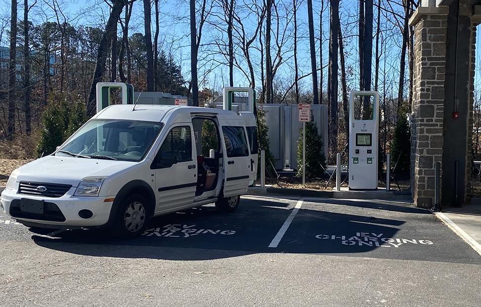 ev charging station in atlanta georgia