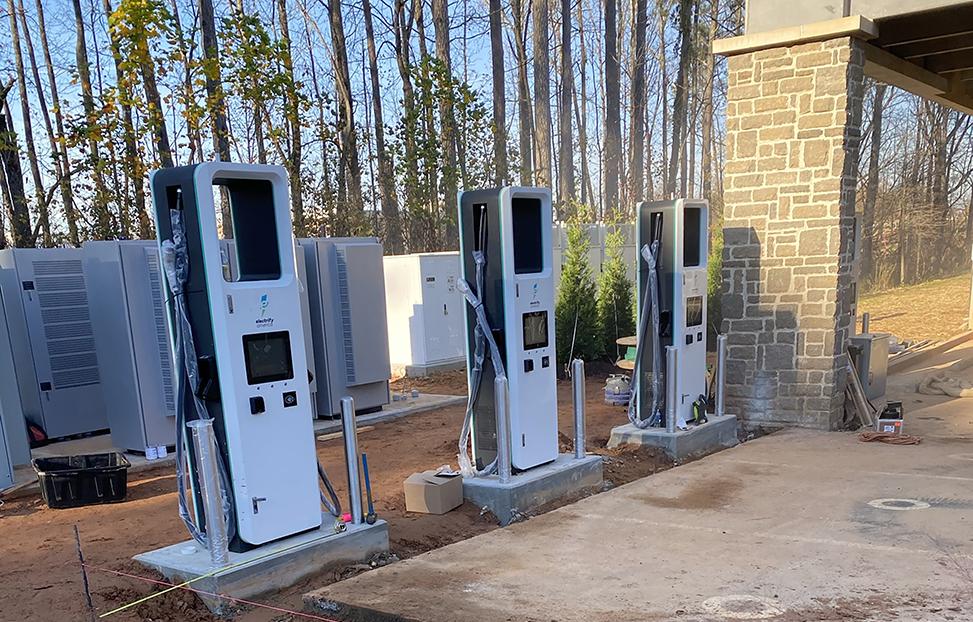 ev charging station equipment