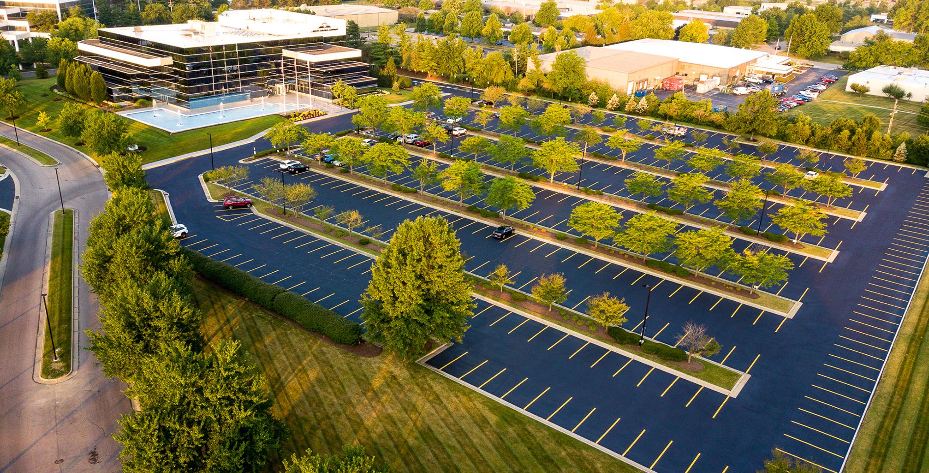 peco northlake parking lot project